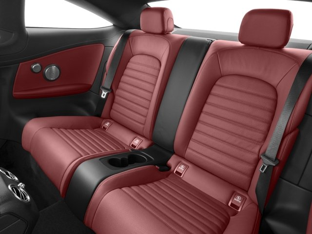 2017 Mercedes-Benz C-Class Prices and Values Coupe 2D C43 AMG AWD V6 Turbo backseat interior