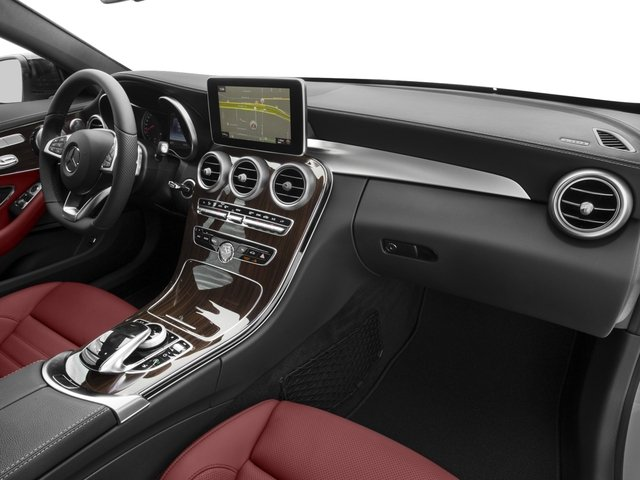 2017 Mercedes-Benz C-Class Prices and Values Coupe 2D C43 AMG AWD V6 Turbo passenger's dashboard