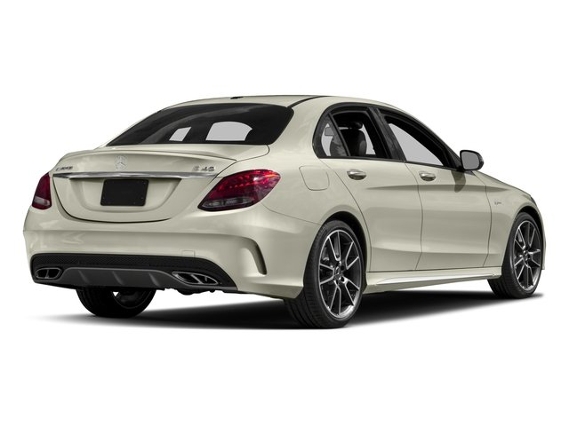 2017 Mercedes-Benz C-Class Base Price AMG C 43 4MATIC Sedan Pricing side rear view
