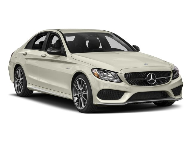 2017 Mercedes-Benz C-Class Prices and Values Sedan 4D C43 AMG AWD V6 Turbo side front view