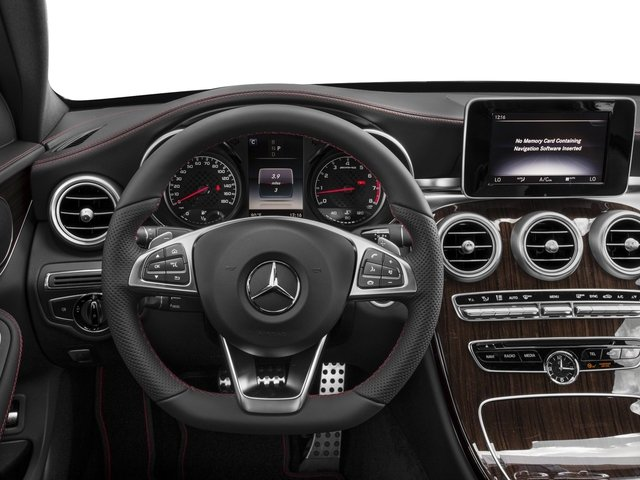 2017 Mercedes-Benz C-Class Base Price AMG C 43 4MATIC Sedan Pricing driver's dashboard