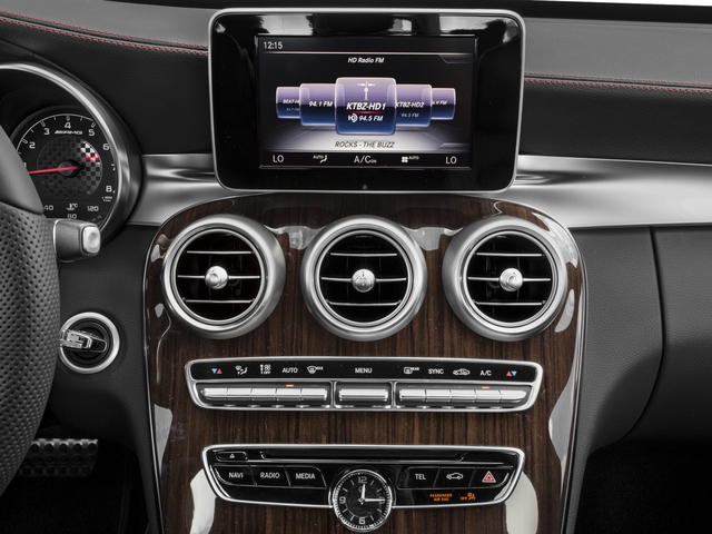 2017 Mercedes-Benz C-Class Base Price AMG C 43 4MATIC Sedan Pricing stereo system