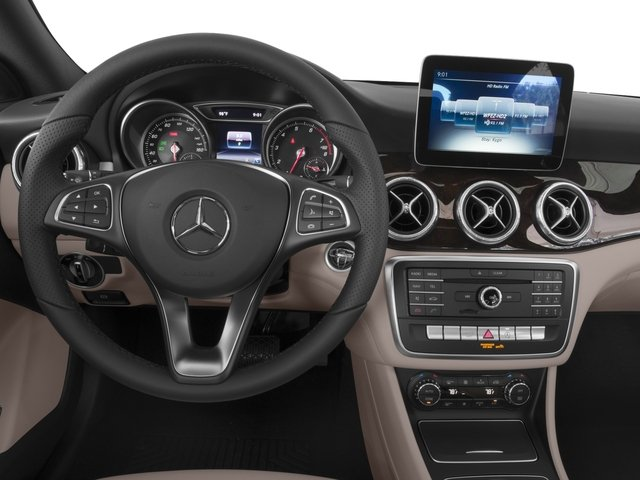 2017 Mercedes-Benz CLA Prices and Values Sedan 4D CLA250 I4 Turbo driver's dashboard