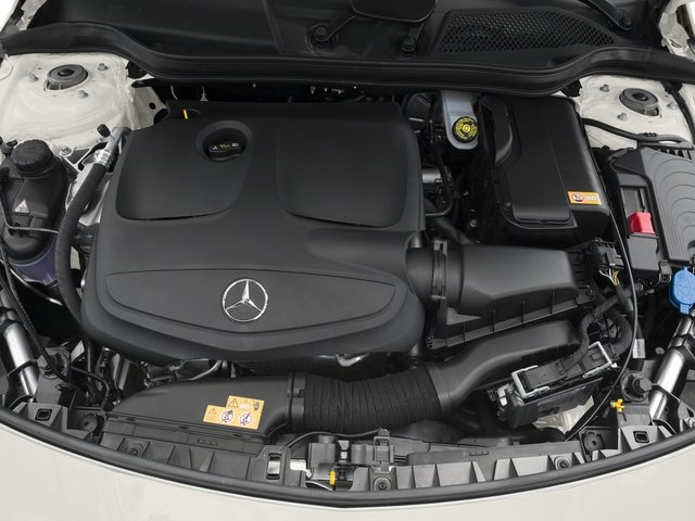 2017 Mercedes-Benz CLA Pictures CLA Sedan 4D CLA250 I4 Turbo photos engine