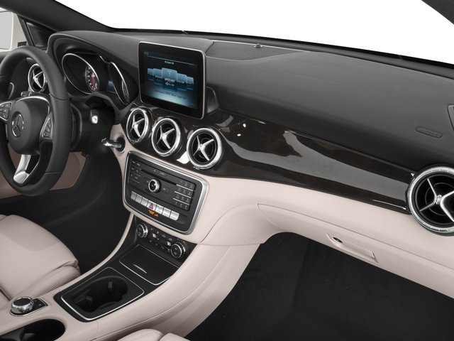 2017 Mercedes-Benz CLA Prices and Values Sedan 4D CLA250 I4 Turbo passenger's dashboard