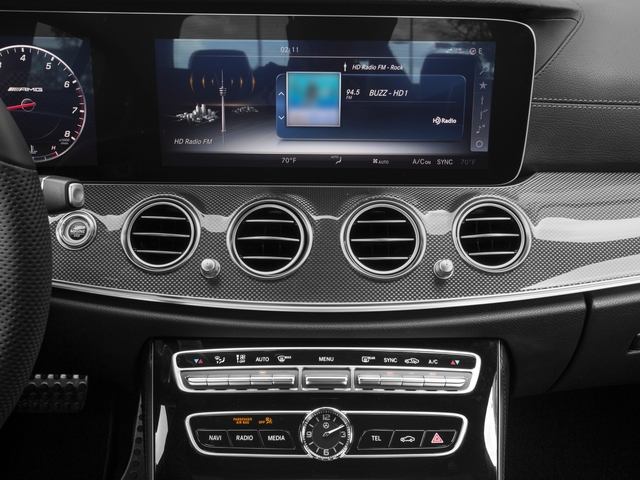 2017 Mercedes-Benz E-Class Base Price AMG E 43 4MATIC Sedan Pricing stereo system