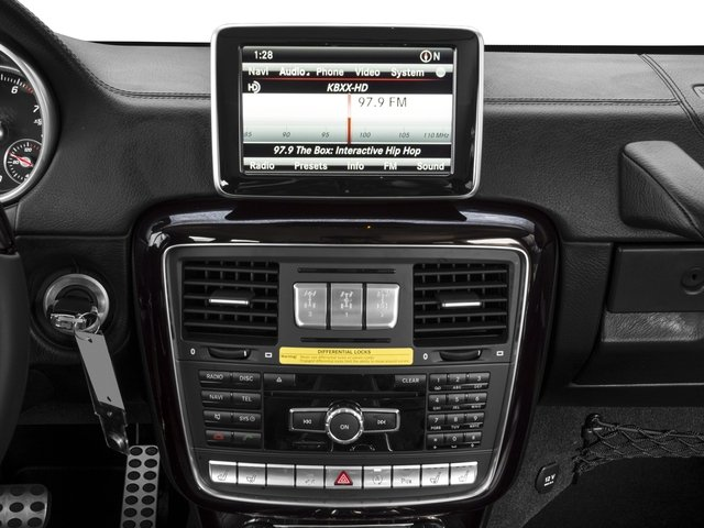 2017 Mercedes-Benz G-Class Base Price G 550 4MATIC SUV Pricing stereo system