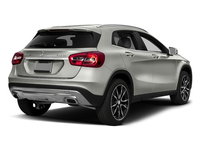 2017 Mercedes-Benz GLA Pictures GLA GLA 250 4MATIC SUV photos side rear view