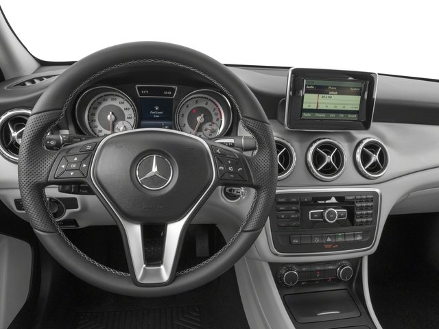 2017 Mercedes-Benz GLA Prices and Values Utility 4D GLA250 AWD I4 Turbo driver's dashboard