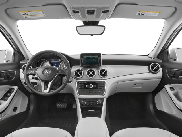 2017 Mercedes-Benz GLA Pictures GLA GLA 250 4MATIC SUV photos full dashboard