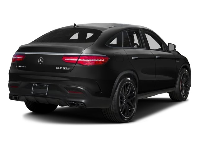 2017 Mercedes-Benz GLE Prices and Values Utility 4D GLE63 AMG S Sport Cpe AWD side rear view