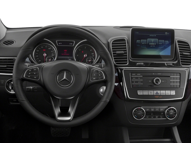 2017 Mercedes-Benz GLE Prices and Values Utility 4D GLE300 AWD I4 Diesel driver's dashboard