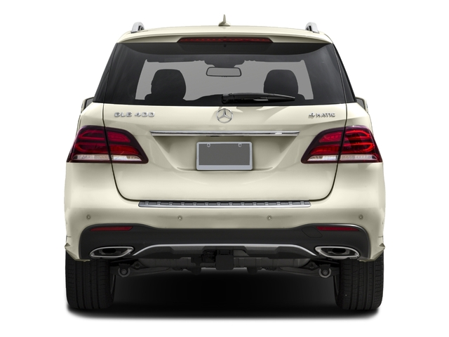 2017 Mercedes-Benz GLE Prices and Values Utility 4D GLE400 AWD V6 rear view