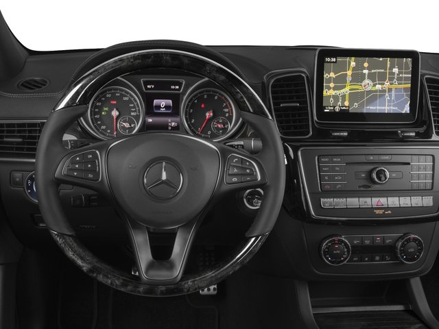 2017 Mercedes-Benz GLE Prices and Values Utility 4D GLE400 AWD V6 driver's dashboard