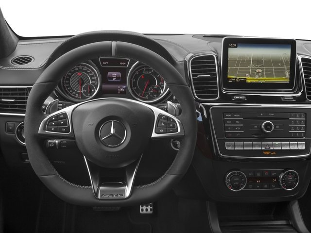 2017 Mercedes-Benz GLE Base Price AMG GLE 63 4MATIC SUV Pricing driver's dashboard