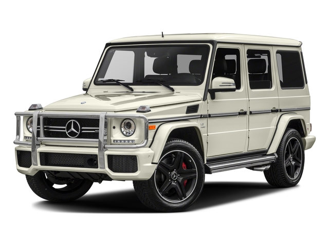 2017 Mercedes-Benz G-Class Base Price AMG G 63 4MATIC SUV Pricing side front view