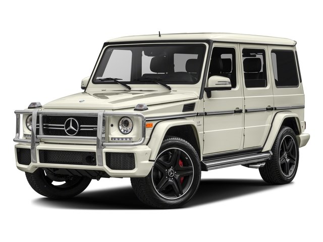 2017 Mercedes-Benz G-Class Pictures G-Class AMG G 63 4MATIC SUV photos side front view