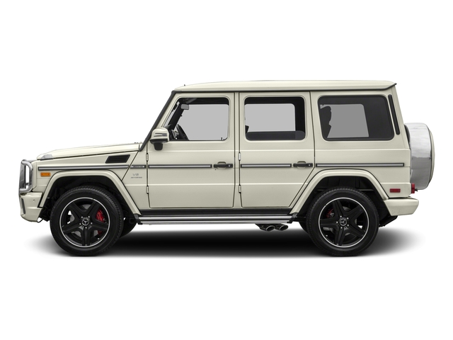2017 Mercedes-Benz G-Class Pictures G-Class AMG G 63 4MATIC SUV photos side view