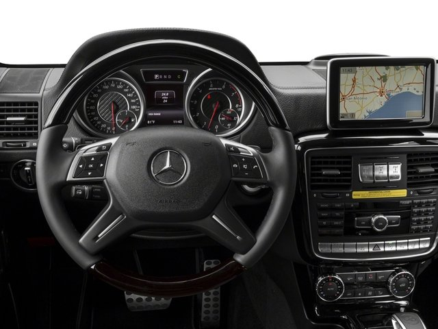 2017 Mercedes-Benz G-Class Base Price AMG G 63 4MATIC SUV Pricing driver's dashboard