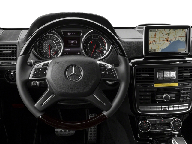 2017 Mercedes-Benz G-Class Pictures G-Class AMG G 63 4MATIC SUV photos driver's dashboard