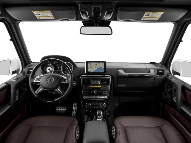2017 Mercedes-Benz G-Class Base Price AMG G 63 4MATIC SUV Pricing full dashboard