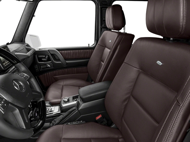 2017 Mercedes-Benz G-Class Base Price AMG G 63 4MATIC SUV Pricing front seat interior