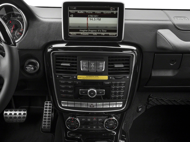 2017 Mercedes-Benz G-Class Base Price AMG G 63 4MATIC SUV Pricing stereo system
