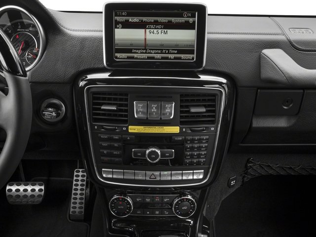 2017 Mercedes-Benz G-Class Pictures G-Class AMG G 63 4MATIC SUV photos stereo system