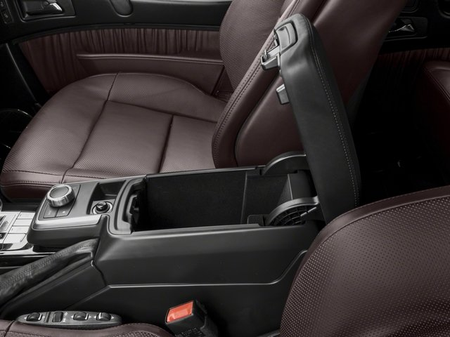 2017 Mercedes-Benz G-Class Base Price AMG G 63 4MATIC SUV Pricing center storage console