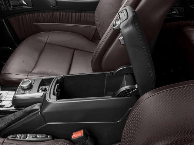 2017 Mercedes-Benz G-Class Pictures G-Class AMG G 63 4MATIC SUV photos center storage console