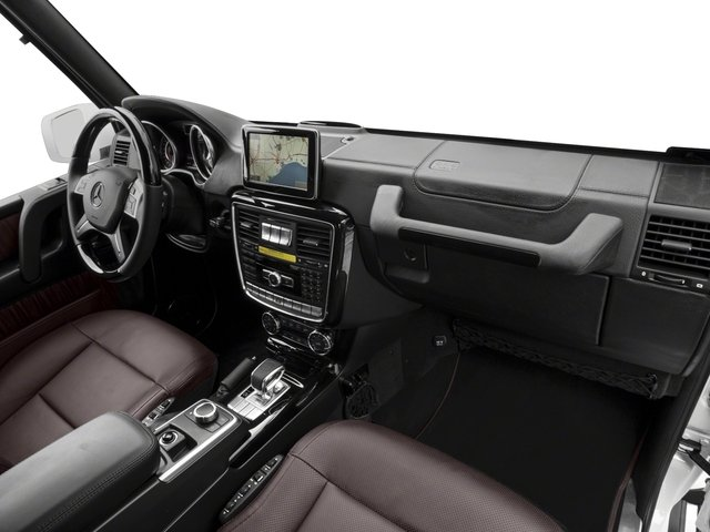 2017 Mercedes-Benz G-Class Base Price AMG G 63 4MATIC SUV Pricing passenger's dashboard
