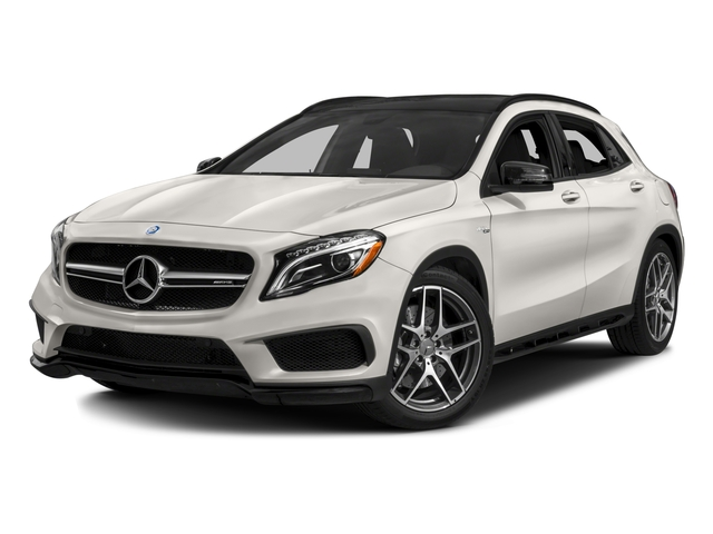 2017 Mercedes-Benz GLA Base Price AMG GLA 45 4MATIC SUV Pricing side front view