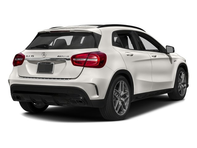 2017 Mercedes-Benz GLA Base Price AMG GLA 45 4MATIC SUV Pricing side rear view