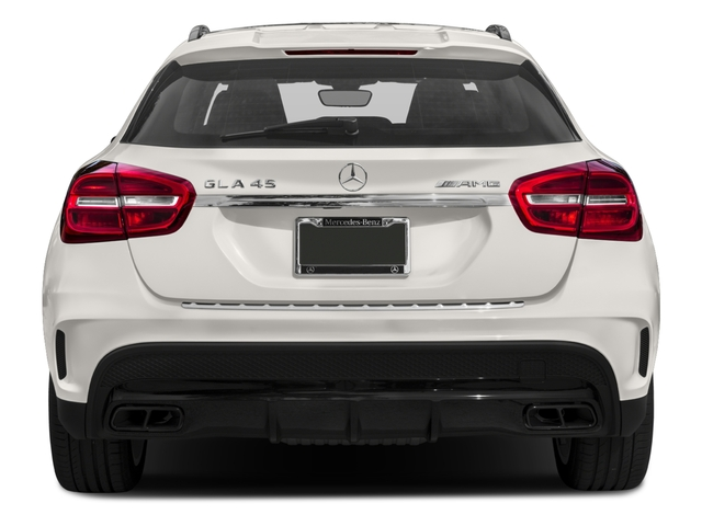 2017 Mercedes-Benz GLA Base Price AMG GLA 45 4MATIC SUV Pricing rear view