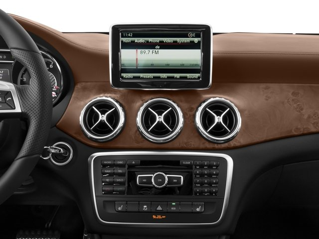 2017 Mercedes-Benz GLA Base Price AMG GLA 45 4MATIC SUV Pricing stereo system