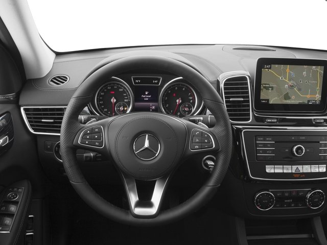 2017 Mercedes-Benz GLS Base Price GLS 450 4MATIC SUV Pricing driver's dashboard