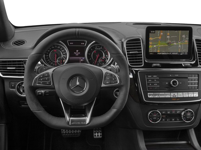 2017 Mercedes-Benz GLS Base Price AMG GLS 63 4MATIC SUV Pricing driver's dashboard