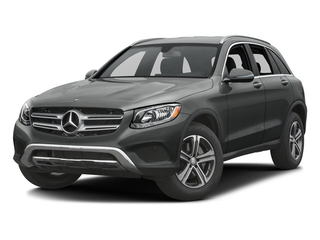 2017 Mercedes-Benz GLC Base Price GLC 300 SUV Pricing side front view