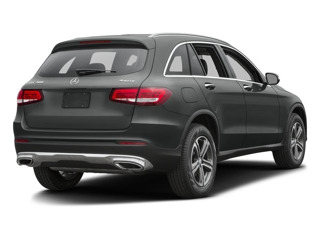 2017 Mercedes-Benz GLC Base Price GLC 300 SUV Pricing side rear view