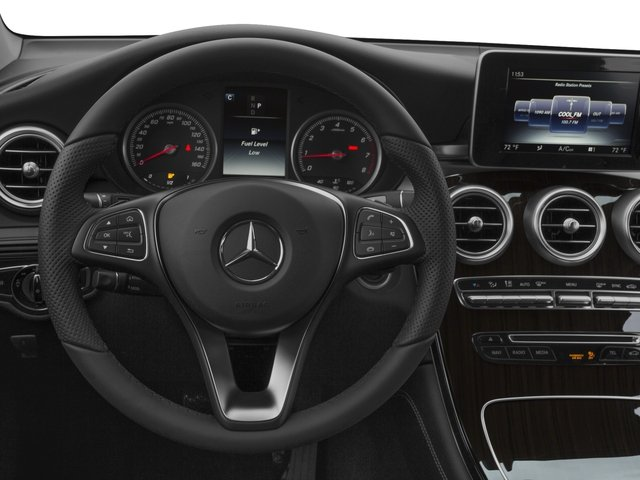 2017 Mercedes-Benz GLC Prices and Values Utility 4D GLC300 2WD I4 Turbo driver's dashboard