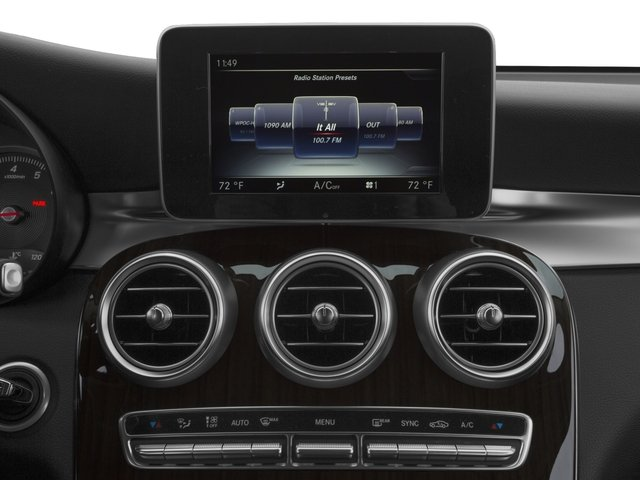 2017 Mercedes-Benz GLC Base Price GLC 300 SUV Pricing stereo system