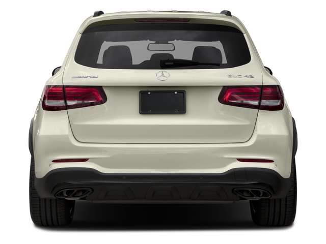 2017 Mercedes-Benz GLC Prices and Values Utility 4D GLC43 AMG AWD V6 Turbo rear view