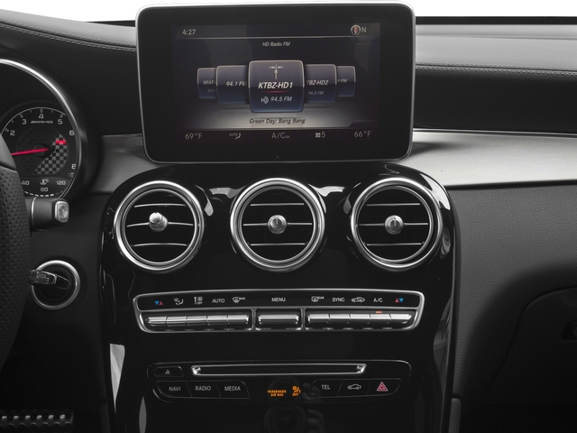 2017 Mercedes-Benz GLC Prices and Values Utility 4D GLC43 AMG AWD V6 Turbo stereo system