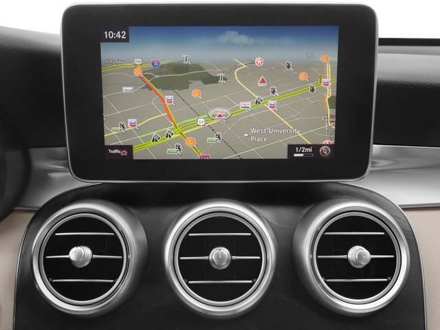 2017 Mercedes-Benz GLC Base Price GLC 300 4MATIC Coupe Pricing navigation system