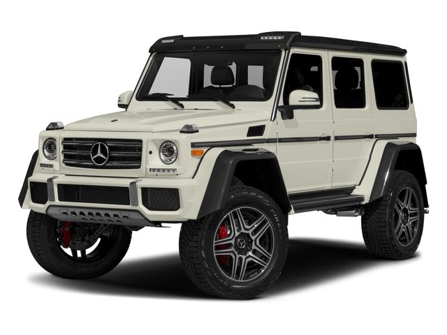 2017 Mercedes-Benz G-Class Base Price G 550 4x4 Squared SUV Pricing side front view