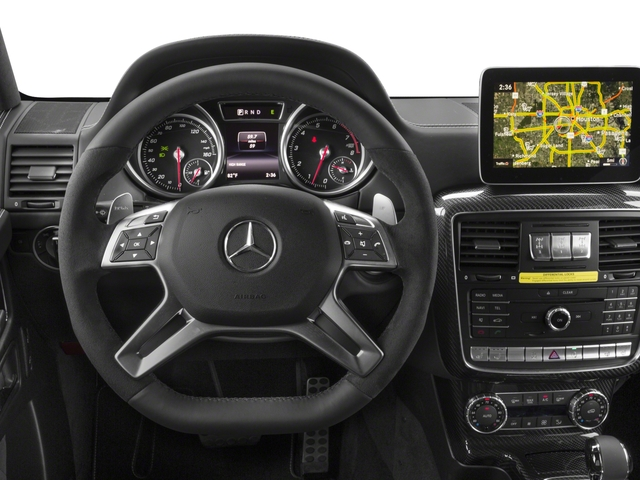 2017 Mercedes-Benz G-Class Base Price G 550 4x4 Squared SUV Pricing driver's dashboard