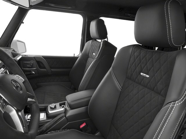 2017 Mercedes-Benz G-Class Pictures G-Class G 550 4x4 Squared SUV photos front seat interior