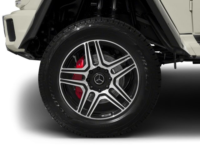 2017 Mercedes-Benz G-Class Pictures G-Class G 550 4x4 Squared SUV photos wheel