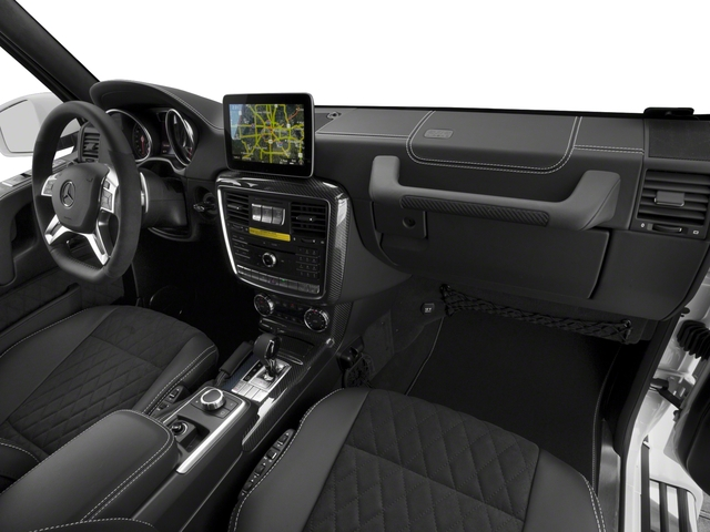 2017 Mercedes-Benz G-Class Base Price G 550 4x4 Squared SUV Pricing passenger's dashboard