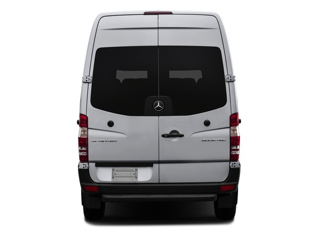 2017 Mercedes-Benz Sprinter Passenger Van Prices and Values Passenger Van 4WD rear view